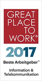 Beste Arbeitgeber 2017 – Information und Telekommunikation