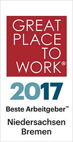 Beste Arbeitgeber 2017 – Niedersachsen und Bremen